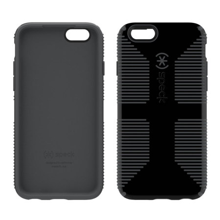 Speck CandyShell Grip iPhone 6S / 6 Case - Black / Grey