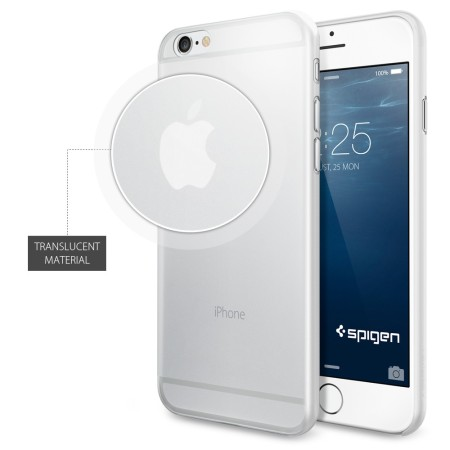 Spigen Air Skin iPhone 6S / 6 Shell Case - Soft Clear
