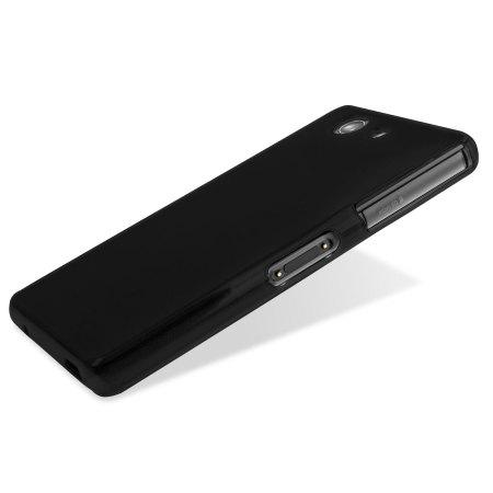 FlexiShield Sony Xperia Z3 Compact Gel Case - Solid Black