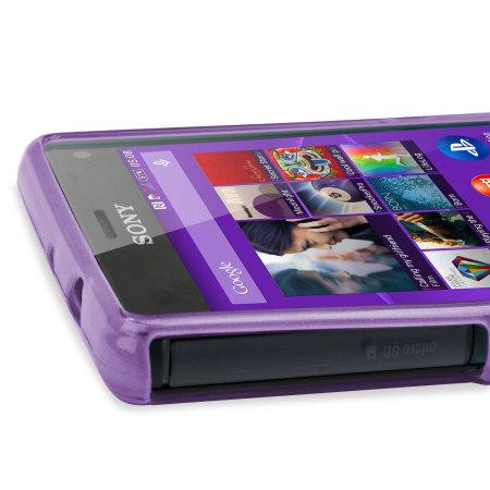 FlexiShield Sony Xperia Z3 Compact Gel Case - Purple