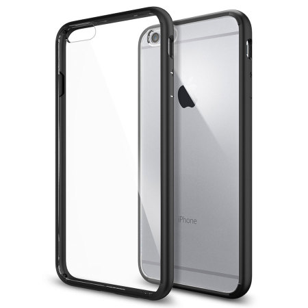 Spigen Ultra Hybrid iPhone 6S Plus / 6 Plus Bumper Case - Black