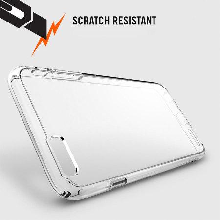 Spigen Ultra Hybrid iPhone 6S Plus/6 Plus Bumper Case - Crystal Clear