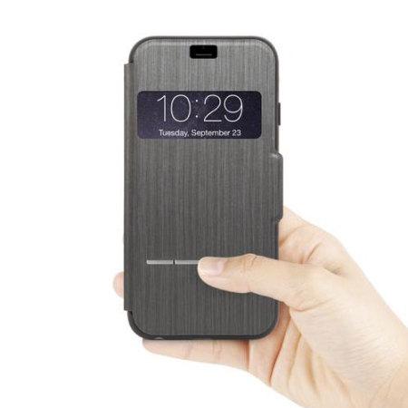 buy popular 7553e ee9d6 Moshi SenseCover iPhone 6S / 6 Smart Case - Black
