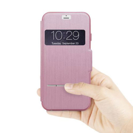 Moshi SenseCover iPhone 6S / 6 Smart Case - Pink