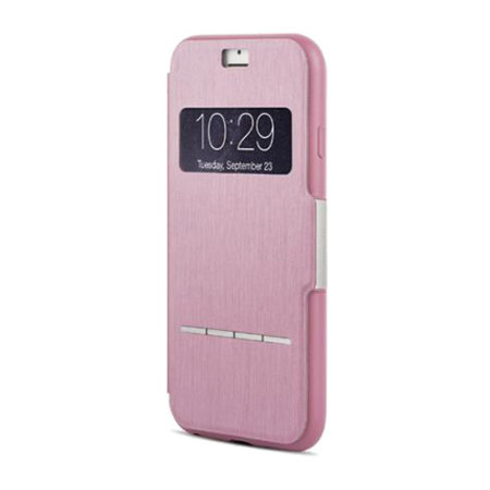 new style 309b5 3b0e1 Moshi SenseCover iPhone 6S Plus / 6 Plus Smart Case - Pink