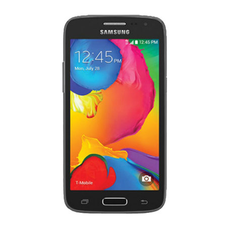 FlexiShield Samsung Galaxy Avant Deksel - Sort