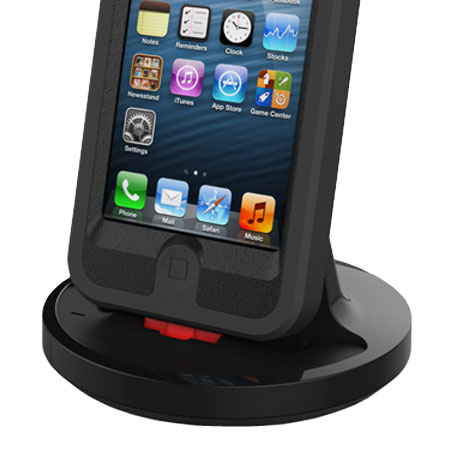 Rugged Case Compatible iPhone 7 / 6S / 6 / 5 Charging Dock