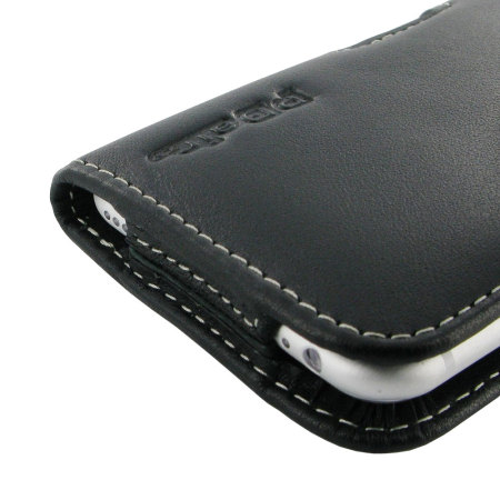 PDair Horizontal Leather iPhone 6S / 6 Pouch Case - Black