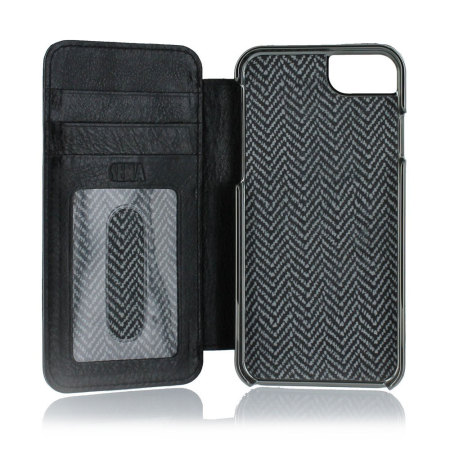 new arrival ae1b9 f5313 Sena Heritage Genuine Leather iPhone 6 Wallet Book - Black