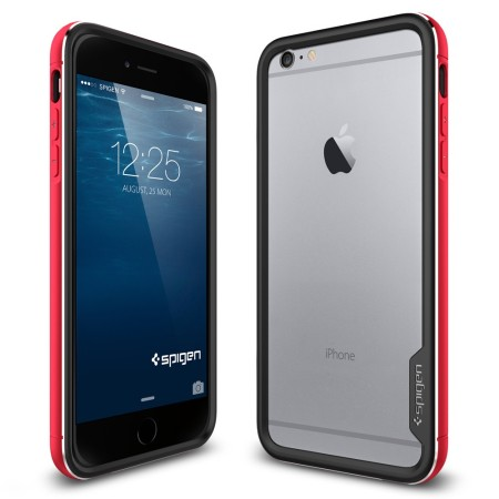 reputable site 7b861 fc17b Spigen Neo Hybrid Ex Metal iPhone 6S Plus / 6 Plus Case - Metal Red