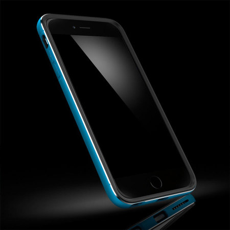 san francisco eb780 4f0af Spigen Neo Hybrid Ex Metal iPhone 6 Plus Case - Metal Blue