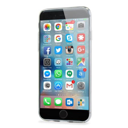 Olixar Ultra Thin FlexiShield iPhone 6 Plus Gel Case - 100% Clear