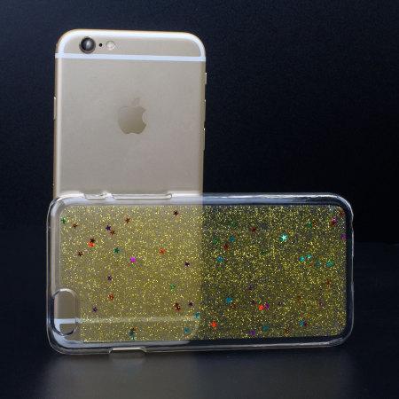 Funda iPhone 6 Encase Glitter Sparkle - Plata