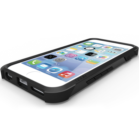 obliq xtreme pro iphone 6s / iphone 6 tough case - black