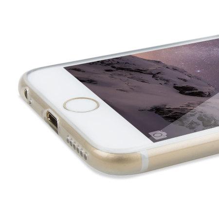 Encase FlexiShield Glitter iPhone 6S / 6 Gel Case - Clear