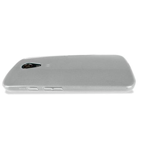 Flexishield Moto G 2nd Gen Case - Frost White