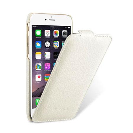 brand new aa7b9 f537b Melkco Jacka iPhone 6 Premium Leather Flip Case - White