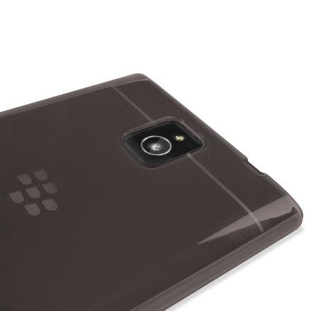 Encase FlexiShield BlackBerry Passport Case - Smoke Black