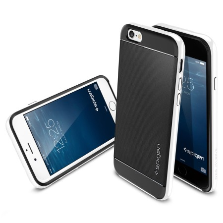 new product 3f2b5 a475a Spigen Neo Hybrid iPhone 6S / 6 Case - Infinity White