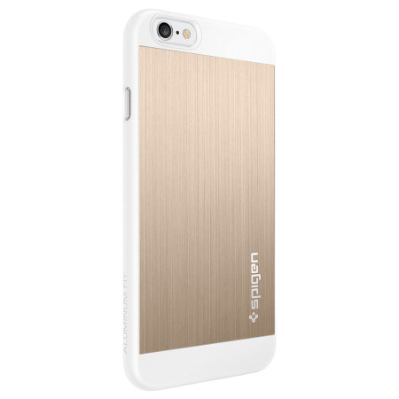 Spigen Aluminum Fit iPhone 6S / 6 Shell Case - Champagne Gold