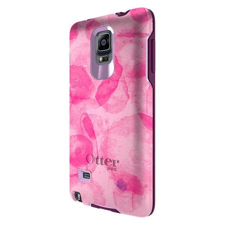 competitive price d8de1 8d8b6 OtterBox Symmetry Samsung Galaxy Note 4 Case - Poppy Petal