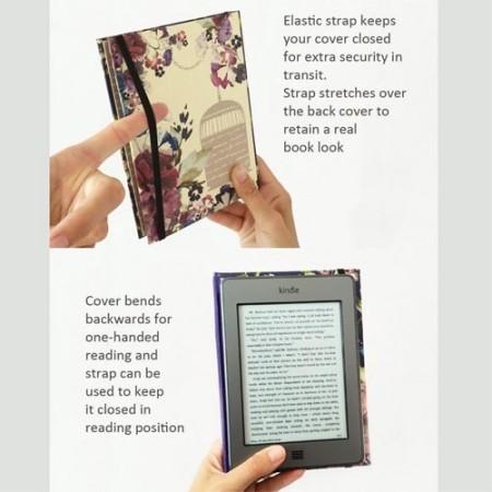 KleverCase Vintage Book Case for Kindle Voyage - Jane Eyre