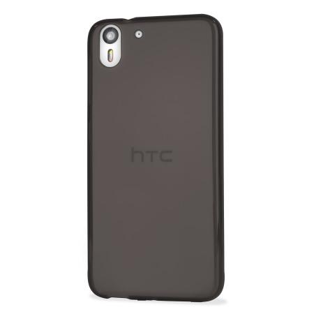 Encase FlexiShield HTC Desire Eye Gel Case - Smoke Black