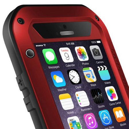 Love Mei Powerful iPhone 6S Plus / 6 Plus Protective Case - Red