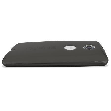Encase FlexiShield Google Nexus 6 Case - Smoke Black