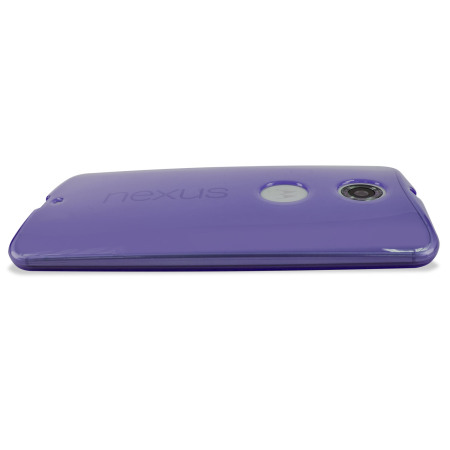 Encase FlexiShield Google Nexus 6 Case - Purple