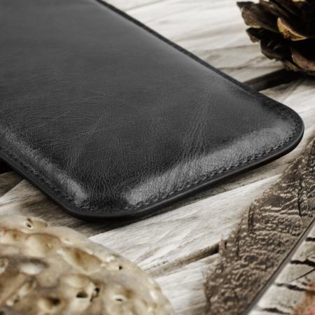 Etui en Cuir iPhone 6S / 6 Redneck - Noir