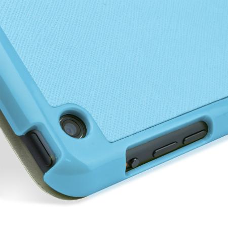 Encase Folding Stand iPad Mini 3 / 2 / 1 Case - Blue