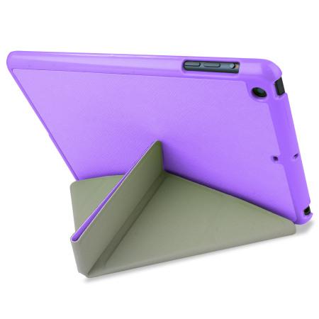 Encase Folding Stand iPad Mini 3 / 2 / 1 Case - Purple
