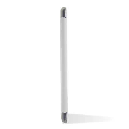 Encase Transparent iPad Mini 3 / 2 / 1 Folding Stand Case - White