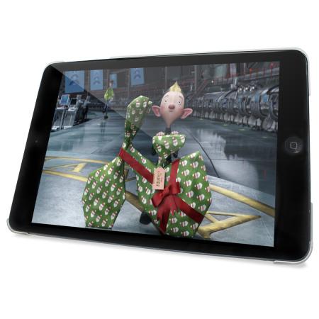 Encase Transparent iPad Mini 3 / 2 / 1 Folding Stand Case - Pink