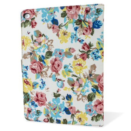 Encase Vintage Flower iPad Air 2 Case - White