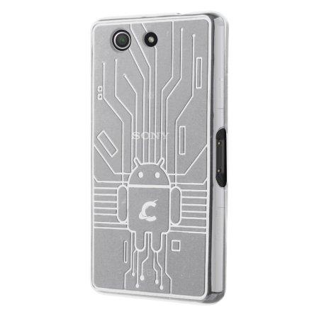Cruzerlite Bugdroid Circuit Sony Xperia Z3 Compact Case - Clear
