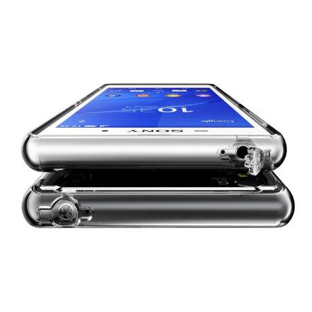 Apple rearth ringke fusion sony xperia z3 bumper case smoke black tablet will feel