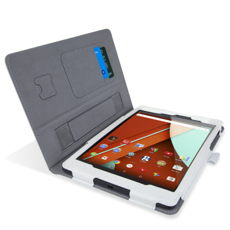 Encase Stand and Type Google Nexus 9 Case - White