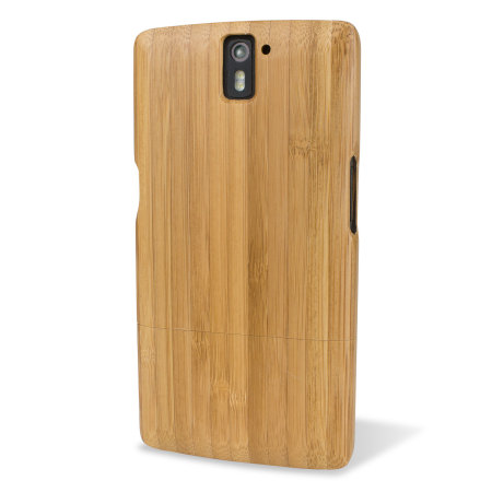 Encase Deluxe OnePlus One Bamboo Hard Case