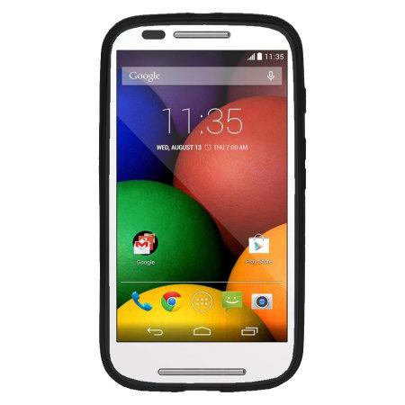 Encase FlexiShield Moto X 2nd Gen Gel Case - Solid Black