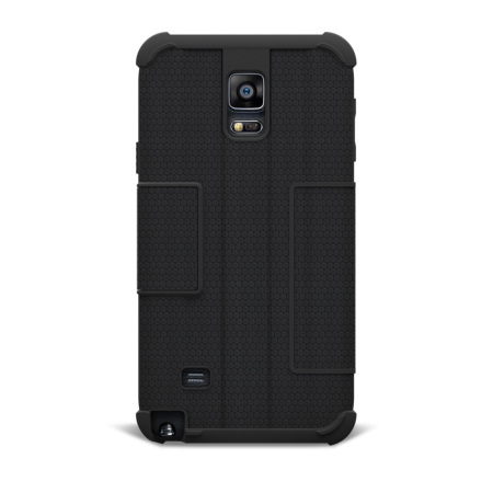 new concept 28439 52bd3 UAG Scout Folio Samsung Galaxy Note 4 Protective Wallet Case - Black