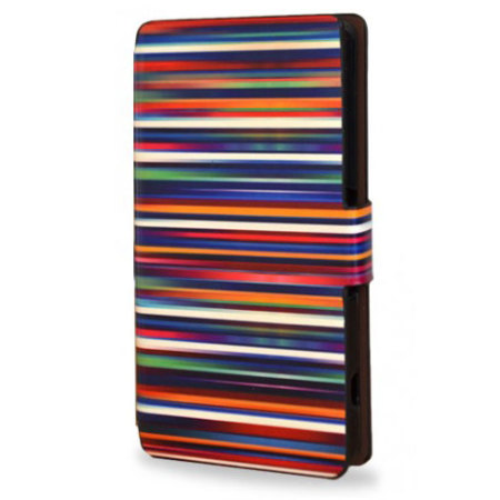 Create and Case Sony Xperia Z3 Compact Stand Case - Blurry Lines