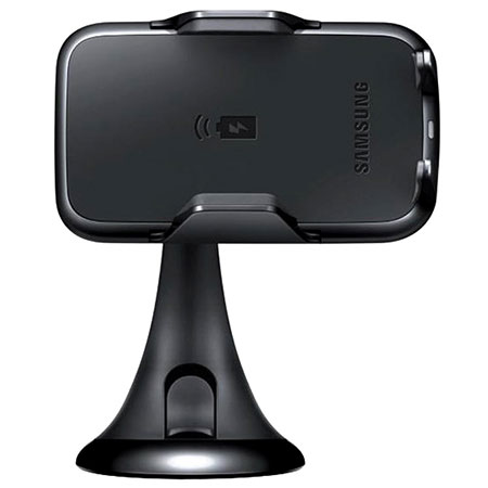 Samsung Qi Wireless Charging Car Holder and Charger - Black