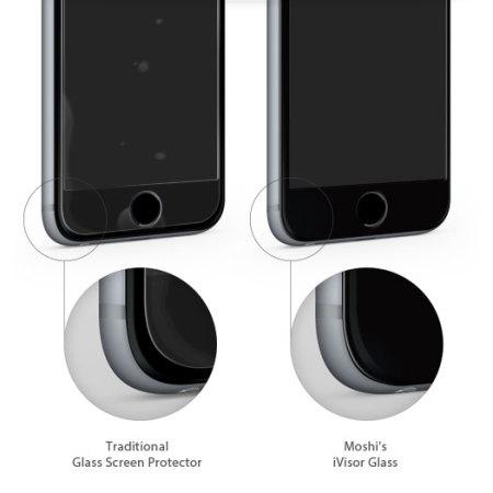 newest f378e 6394c Moshi iVisor iPhone 6S Plus / 6 Plus Glass Screen Protector - Black