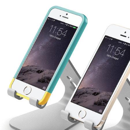 Support Bureau universel Smartphones Elago M2 Aluminium - Argent