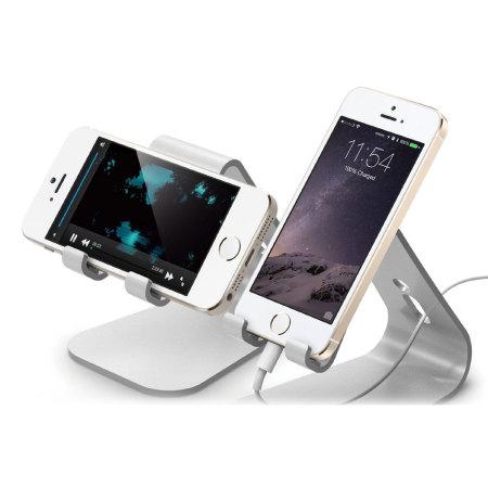 elago m2 aluminium style universal smartphone desk stand rose gold
