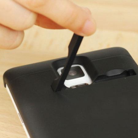 online store 1e532 2580e Power Jacket Samsung Galaxy Note 4 Battery Case 3800mAh - Black