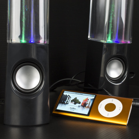 this the olixar water dancing dual bluetooth speakers that