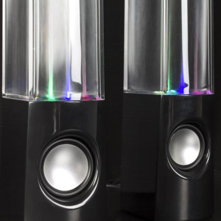 olixar water dancing dual bluetooth speakers